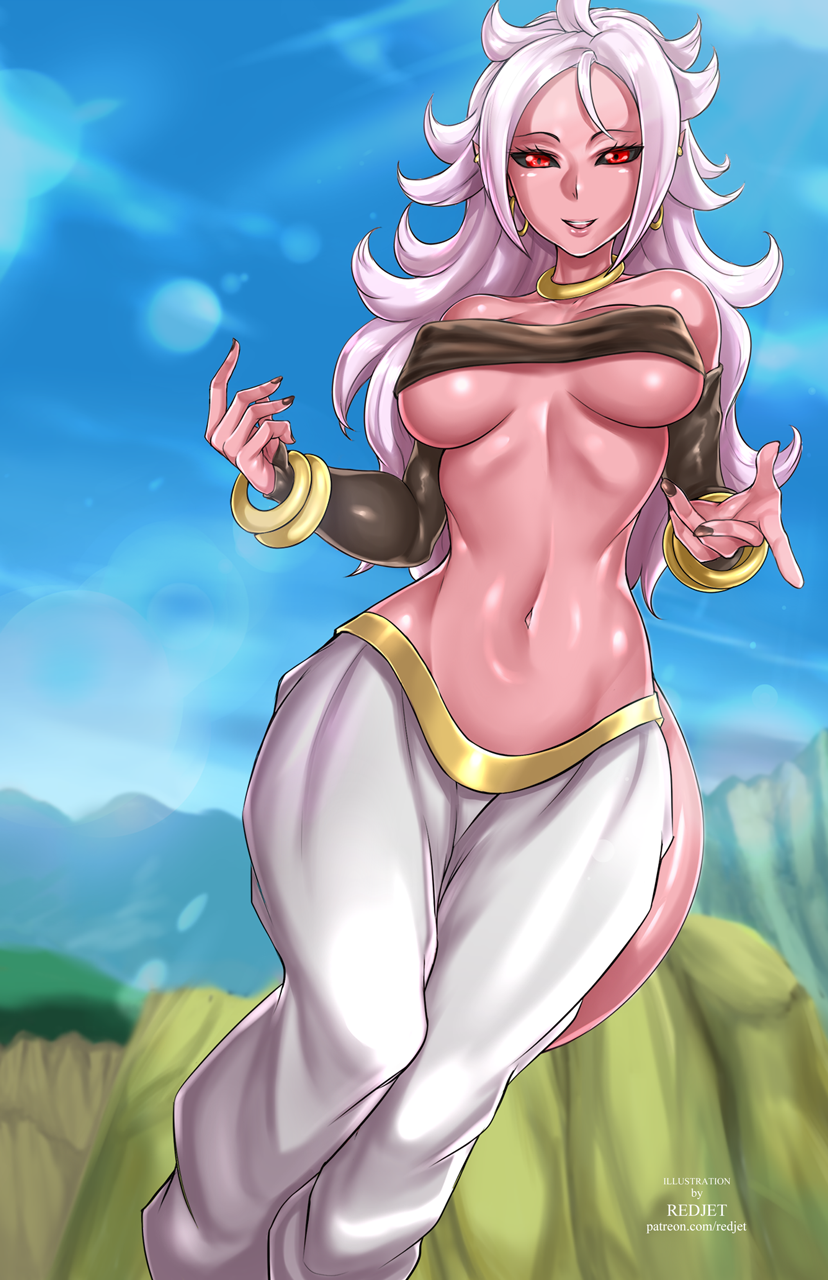 Majin-Android-21-11x17-RJ-feature