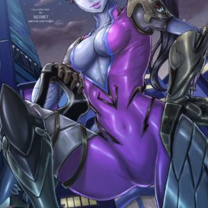 Widowmaker Overwatch REDJET Art Print