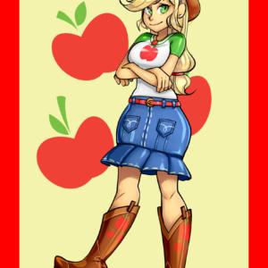 Applejack Sra Art Print